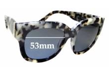Sunglass Fix Sunglass Replacement Lenses for Sass & Bide Arizona - 53mm Wide
