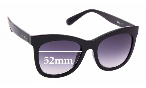 Sunglass Fix Sunglass Replacement Lenses for Seafolly Manly - 52mm Wide