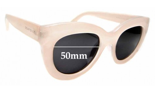 Sunglass Fix Sunglass Replacement Lenses for Seafolly Tortola V2 - 50mm Wide