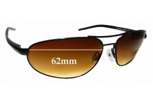 Sunglass Fix Sunglass Replacement Lenses for Serengeti Como - 62mm Wide