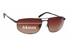 Sunglass Fix Sunglass Replacement Lenses for Serengeti Modugno - 64mm Wide