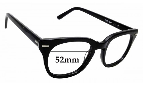 Sunglass Fix Sunglass Replacement Lenses for Shuron Freeway - 52mm Wide