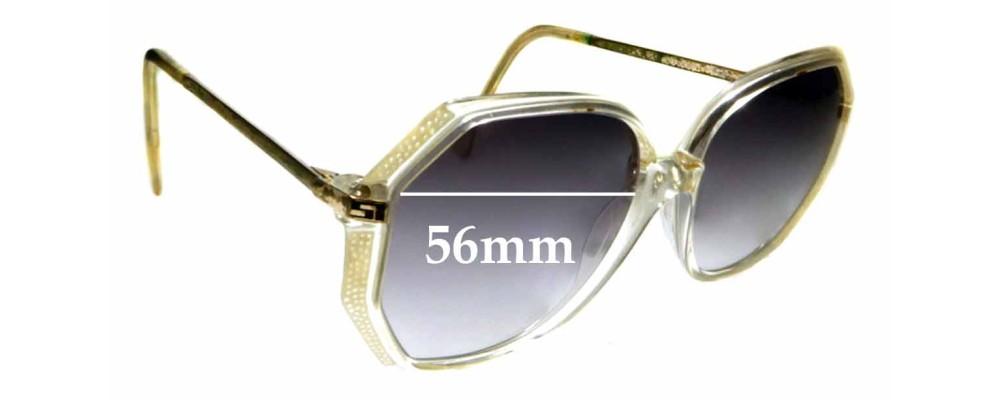 Sunglass Fix Sunglass Replacement Lenses for SI Design Cellidor - 56mm Wide