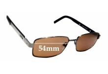 Sunglass Fix Sunglass Replacement Lenses for Slazenger SL5468 - 54mm Wide