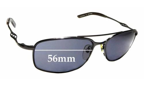 Sunglass Fix Sunglass Replacement Lenses for Smith Citation - 56mm Wide