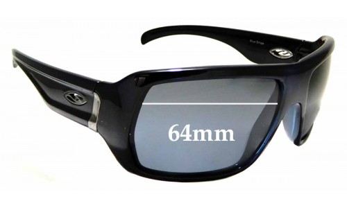 Sunglass Fix Sunglass Replacement Lenses for Smith Vanguard - 64mm Wide