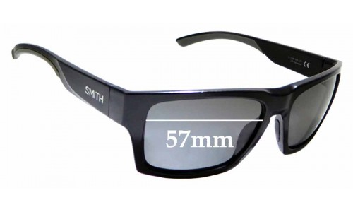 Sunglass Fix Sunglass Replacement Lenses for Smith Outlier 2 - 57mm Wide