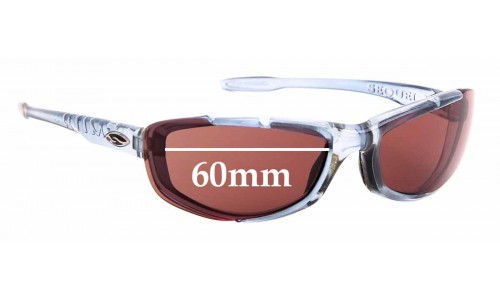 Sunglass Fix Sunglass Replacement Lenses for Smith Sequel II - 60mm Wide