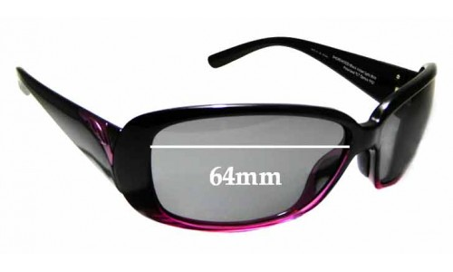 Sunglass Fix Sunglass Replacement Lenses for Smith ShoreWood - 64mm Wide