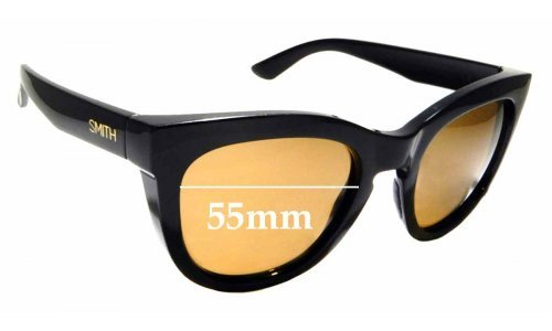 Sunglass Fix Sunglass Replacement Lenses for Smith Sidney - 55mm Wide