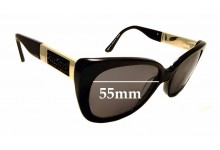 Sunglass Fix Sunglass Replacement Lenses for Alex Perry Sun Rx 44 - 55mm Wide