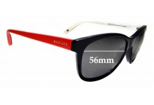 Sunglass Fix Sunglass Replacement Lenses for Tommy Hilfiger / Specsavers TH Sun RX 07 - 56mm Wide