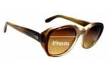Sunglass Fix Sunglass Replacement Lenses for Spect Art Diplomat - 49mm Wide