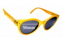 Sunglass Fix Sunglass Replacement Lenses for Spektre Vitesse - 50mm Wide