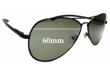 Sunglass Fix Sunglass Replacement Lenses for Spiffy Society Rio - 60mm Wide