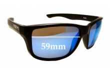 Sunglass Fix Sunglass Replacement Lenses for Spotters Rebel - 59mm Wide