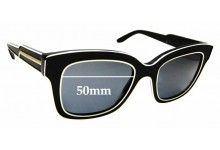 Sunglass Fix Sunglass Replacement Lenses for Stella McCartney SM4056 - 50mm Wide