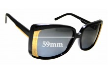 Sunglass Fix Sunglass Replacement Lenses for Stella McCartney SM80/S - 59mm Wide