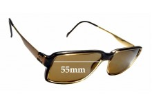 Sunglass Fix Sunglass Replacement Lenses for Steppers SI-169 - 55mm Wide