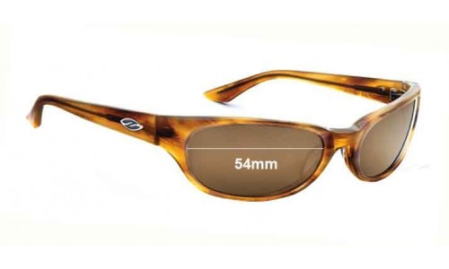 Sunglass Fix Sunglass Replacement Lenses for Smith Vice - 54mm Wide