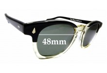 Sunglass Fix Sunglass Replacement Lenses for The Real McCoy's Wellington - 48mm Wide