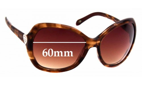 Sunglass Fix Sunglass Replacement Lenses for Tiffany & Co TF 4040 - 60mm Wide