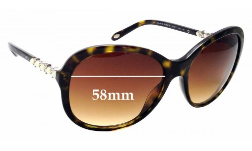 Sunglass Fix Sunglass Replacement Lenses for Tiffany & Co TF 4104-HB - 58mm Wide