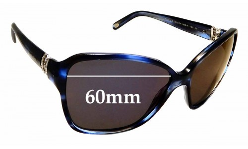 Sunglass Fix Sunglass Replacement Lenses for Tiffany & Co TF 4070-B - 60mm Wide
