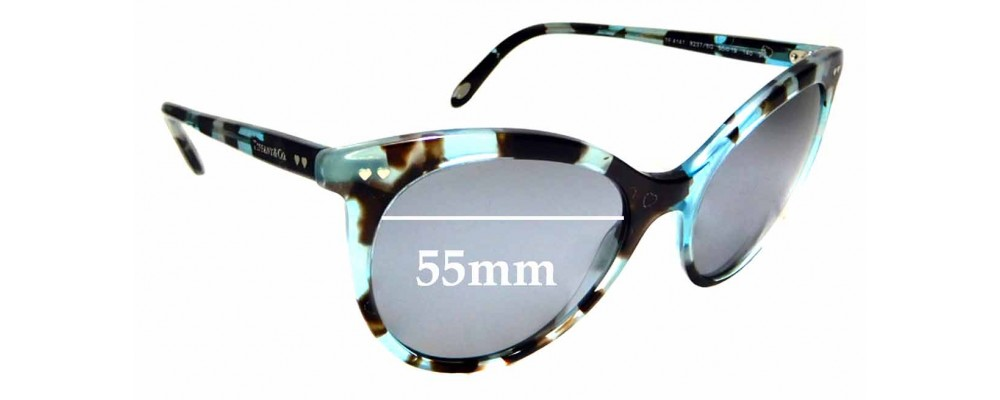 9afb1e7b070 Sunglass Fix Sunglass Replacement Lenses for Tiffany   Co TF 4141 - 55mm  Wide