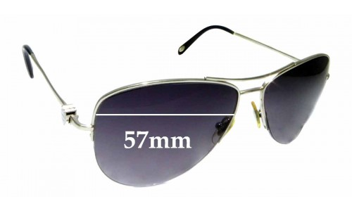 Sunglass Fix Sunglass Replacement Lenses for Tiffany & Co TF 3021 - 57mm Wide