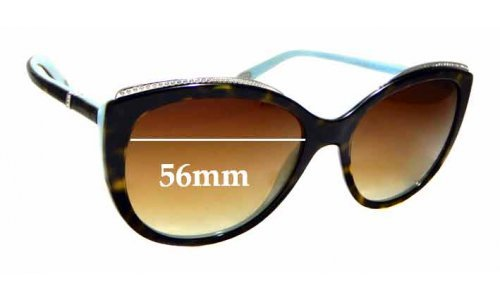 Sunglass Fix Sunglass Replacement Lenses for Tiffany & Co TF 4134-B - 56mm Wide