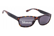 Sunglass Fix Sunglass Replacement Lenses for Tommy Hilfiger / Specsavers TH Sun RX 19 - 57mm Wide