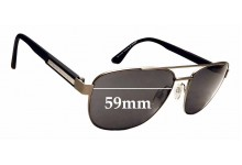Sunglass Fix Sunglass Replacement Lenses for Tommy Hilfiger TH Sun Rx 39 - 59mm Wide