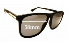 Sunglass Fix Sunglass Replacement Lenses for Tommy Hilfiger TH 1546/S - 58mm Wide