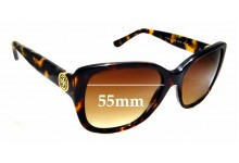 Sunglass Fix Sunglass Replacement Lenses for Tory Burch TY7086 - 55mm Wide