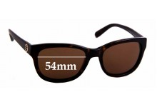 Sunglass Fix Sunglass Replacement Lenses for Tory Burch TY7044 - 54mm Wide