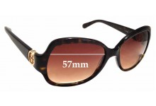 Sunglass Fix Sunglass Replacement Lenses for Tory Burch TY7059 - 57mm Wide