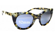 Sunglass Fix Sunglass Replacement Lenses for Tory Burch TY7097 - 52mm Wide