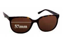 Sunglass Fix Sunglass Replacement Lenses for Tory Burch TY7106 - 57mm Wide