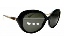 Sunglass Fix Sunglass Replacement Lenses for Tory Burch TY9039 - 56mm Wide