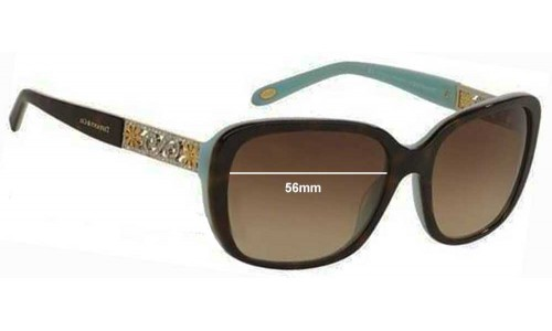 Sunglass Fix Sunglass Replacement Lenses for Tiffany & Co TF 4120-B - 56mm Wide