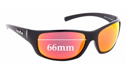 Sunglass Fix Sunglass Replacement Lenses for Ugly Fish Eclipse PC 3441 - 66mm Wide