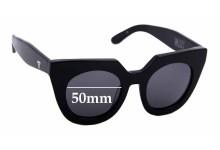 Sunglass Fix Sunglass Replacement Lenses for Valley Spleen - 50mm Wide