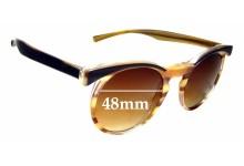 Sunglass Fix Sunglass Replacement Lenses for Vera Wang Pascal - 48mm Wide