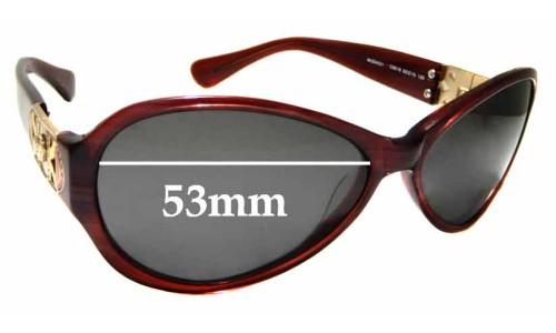 Sunglass Fix Sunglass Replacement Lenses for Versace MOD 4021 - 53mm Wide