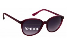 Sunglass Fix Sunglass Replacement Lenses for Vogue VO 2939-S - 55mm Wide