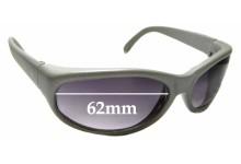 Sunglass Fix Sunglass Replacement Lenses for Vuarnet Pouilloux 021 - 62mm Wide