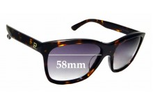 Sunglass Fix Sunglass Replacement Lenses for Vuarnet Pouilloux VL1206 - 58mm Wide