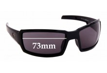 Sunglass Fix Sunglass Replacement Lenses for Harley Davidson Wiley X H-D Jumbo - 73mm Wide