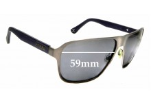 Sunglass Fix Sunglass Replacement Lenses for Zeal Riviera - 59mm Wide